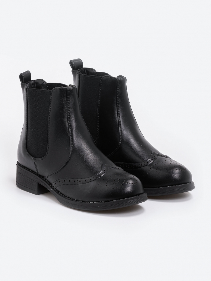 Ankle boots chelsea τύπου oxford