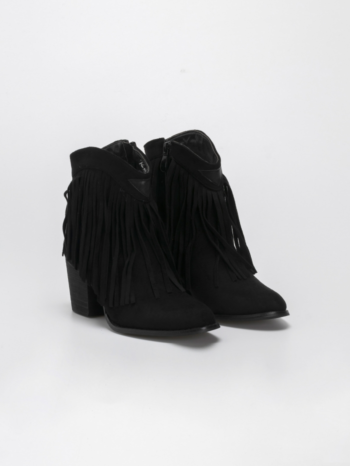 Ankle boots με κρόσια