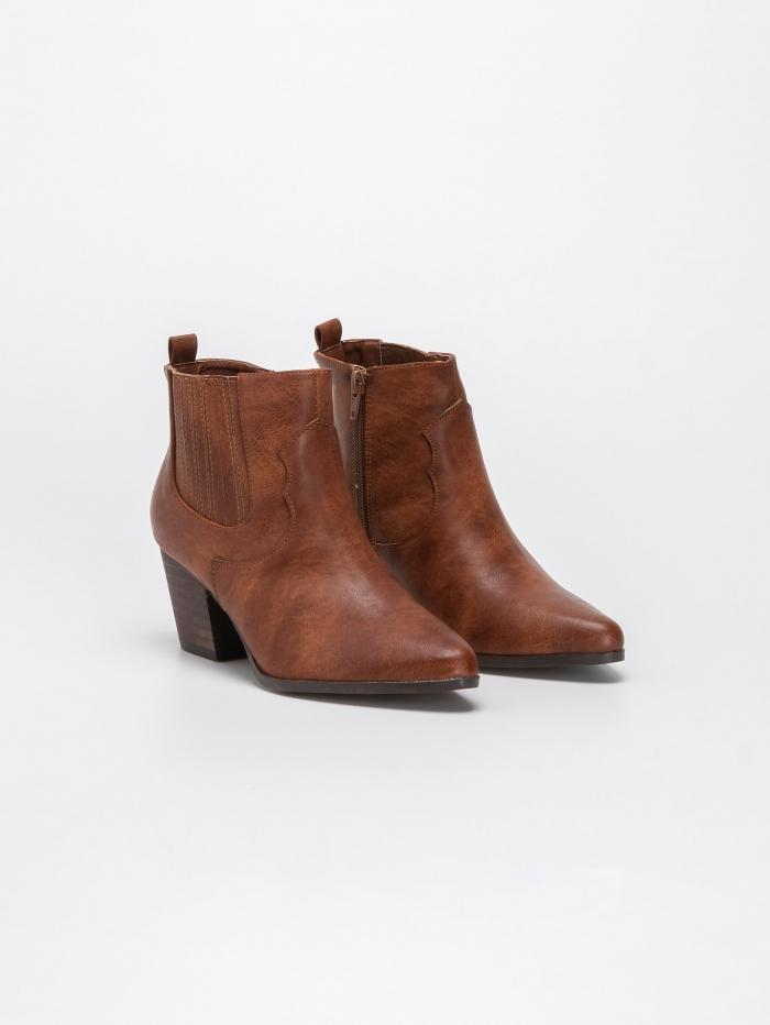 Ankle boots με λάστιχο