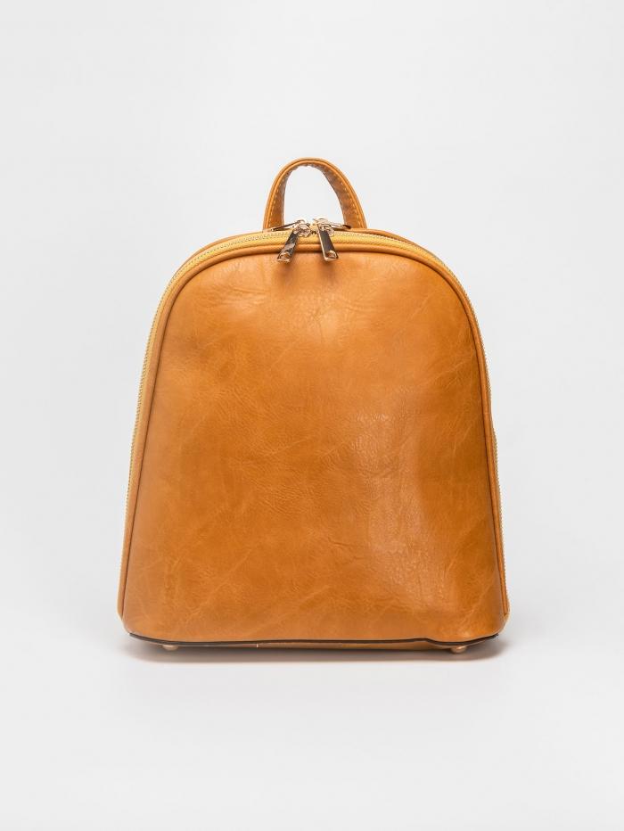 Backpack δυο θέσεων με φερμουάρ