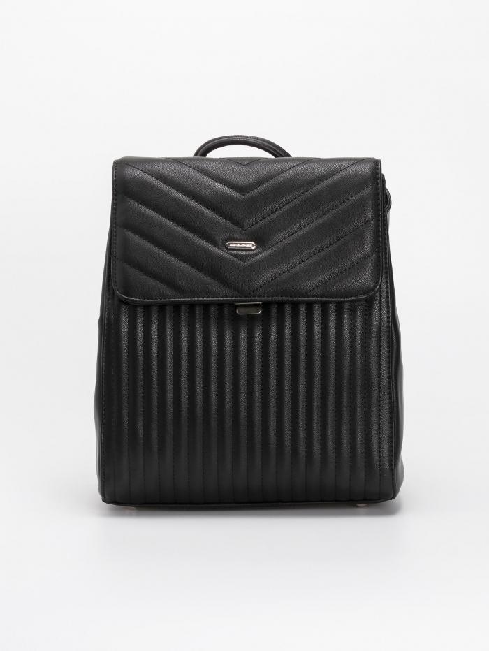Backpack με καπιτονέ σχέδιο