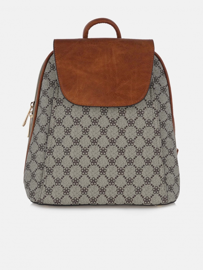 Backpack με print τύπου Louis Vuitton