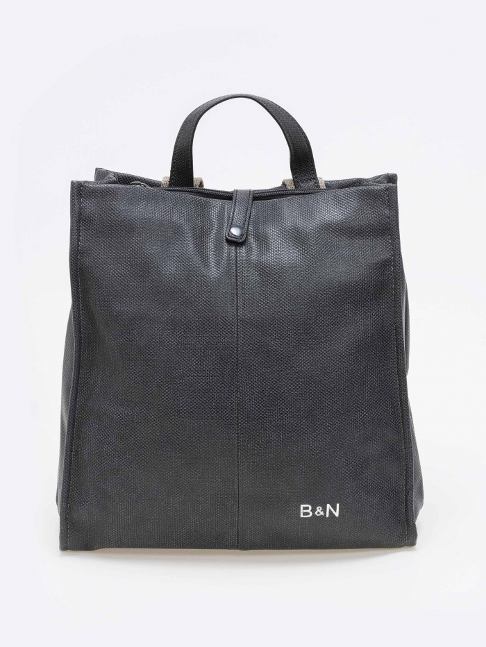 Backpack με σαγρέ soft δερματίνη