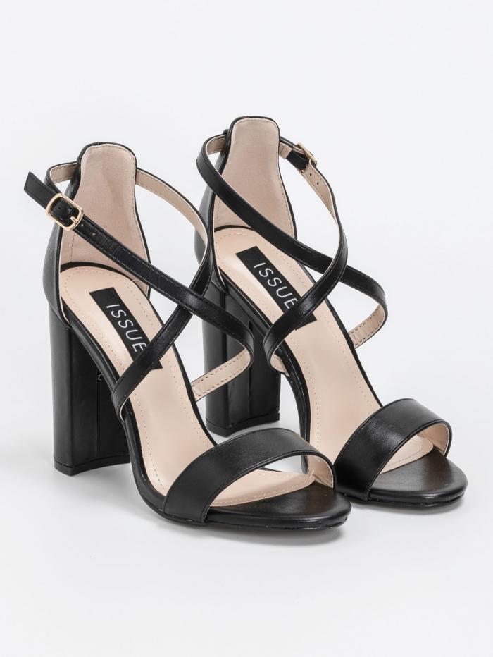 Block heel πέδιλα