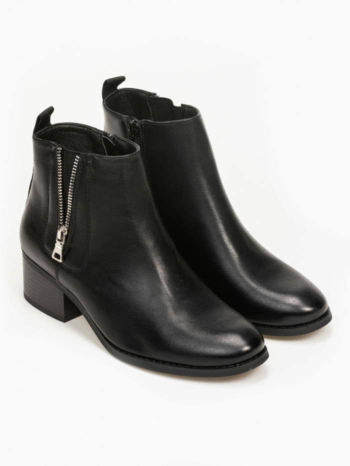 Chelsea ankle boots με side zipper