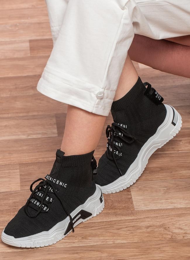 Chunky sneakers slip on