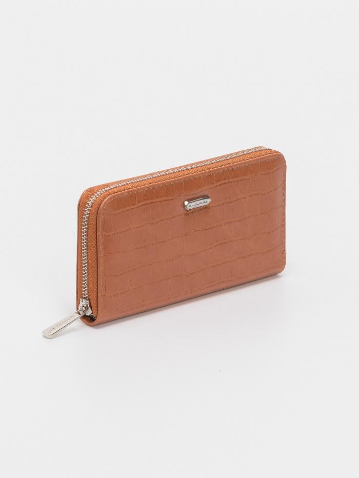 Croco πορτοφόλι με φερμουάρ