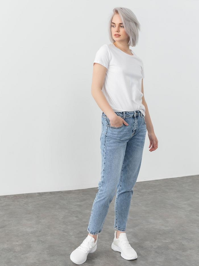 Τζιν mom fit παντελόνι