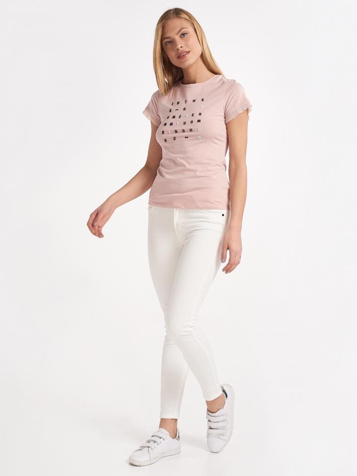 Ελαστικό skinny παντελόνι