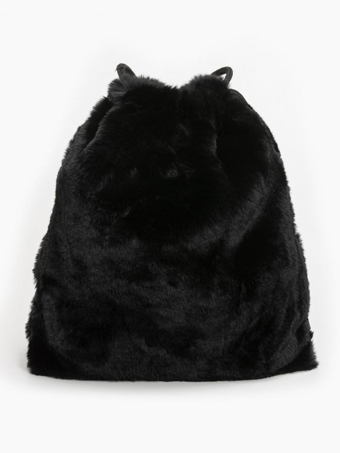 Faux fur πουγκί