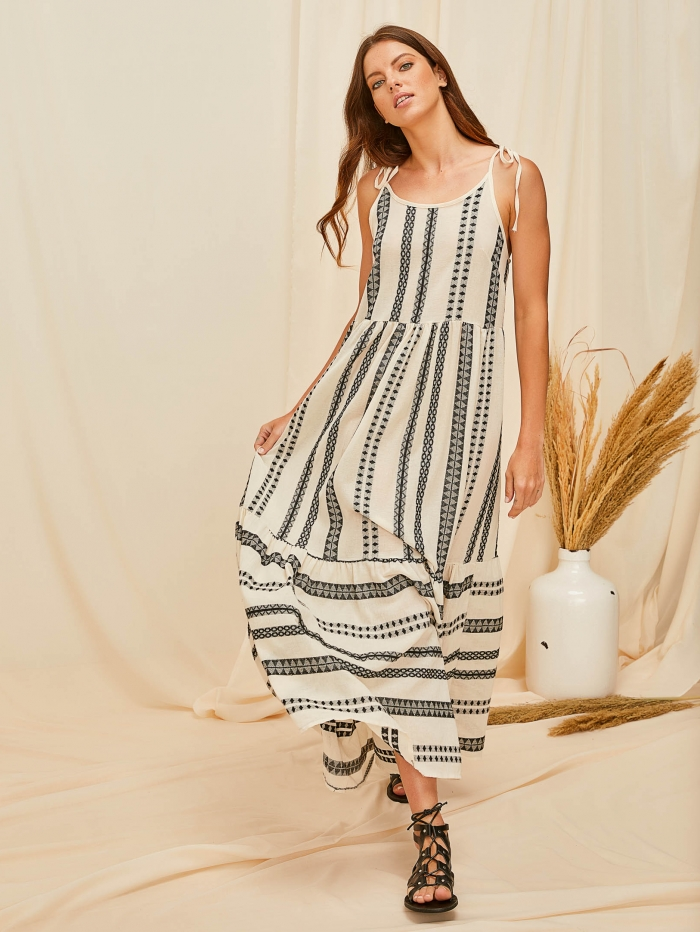 Φόρεμα έθνικ μάξι