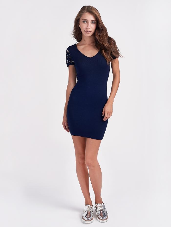 Φόρεμα με τρουκς