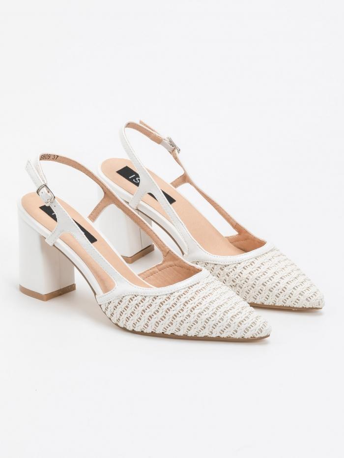 Γόβες μυτερές open heel