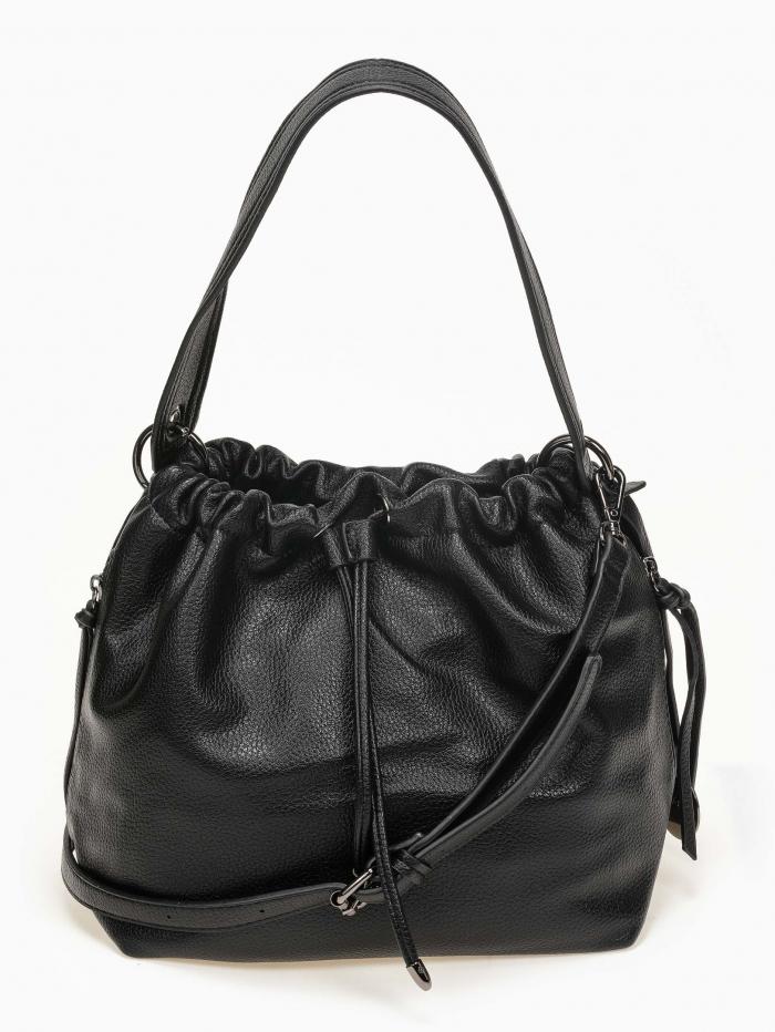 Τσάντα χειρός - ώμου με κορδόνι