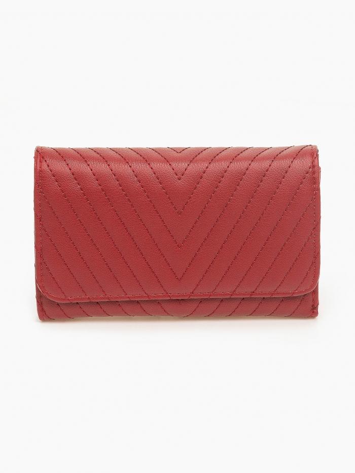 Γυναικείο καπιτονέ πορτοφόλι