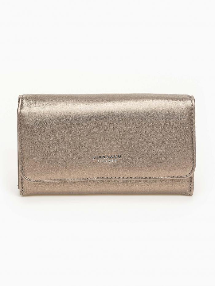 Γυναικείο πορτοφόλι με καπάκι