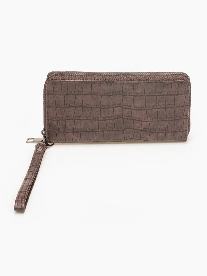 Γυναικείο croco πορτοφόλι