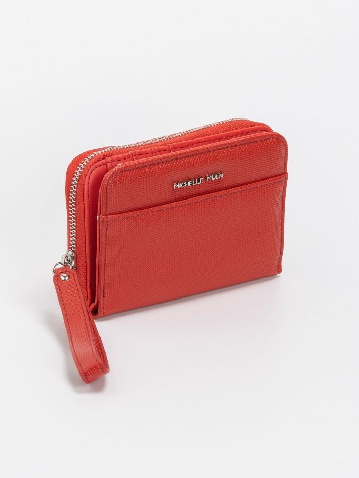 Γυναικείο πορτοφόλι μεσαίου μεγέθους