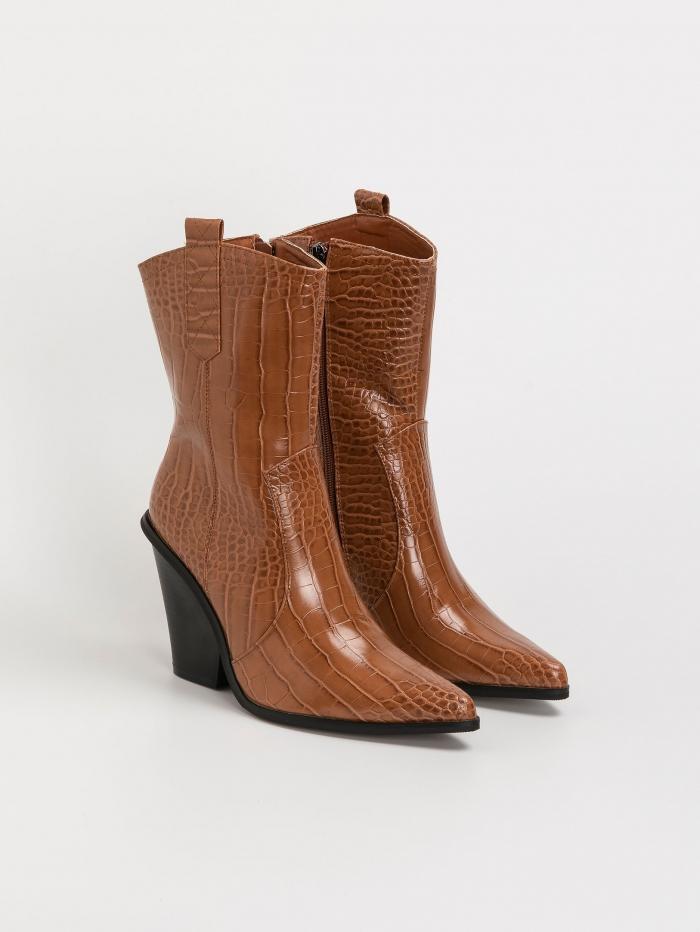 Καουμπόικες κροκό μπότες