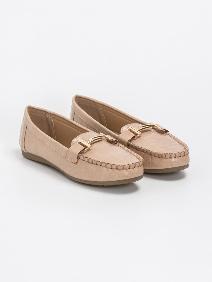 Κροκό loafers