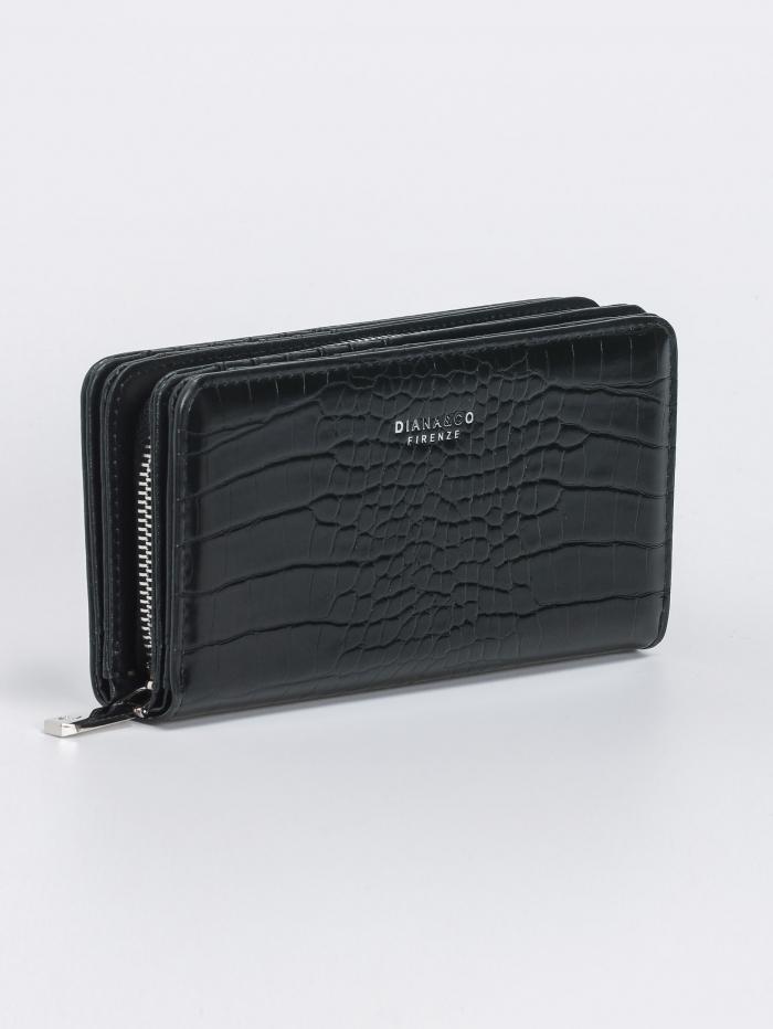 Κροκό πορτοφόλι πολλαπλών θέσεων