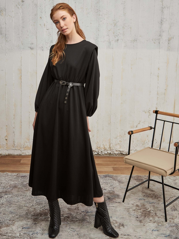 Maxi φόρεμα με βάτες