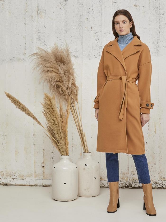 Midi παλτό με πετογιακά