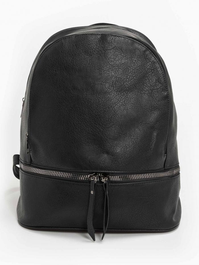Μικρή τσάντα πλάτης με διπλή θήκη