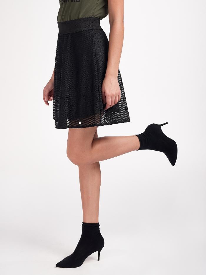 Mini φούστα με λάστιχο