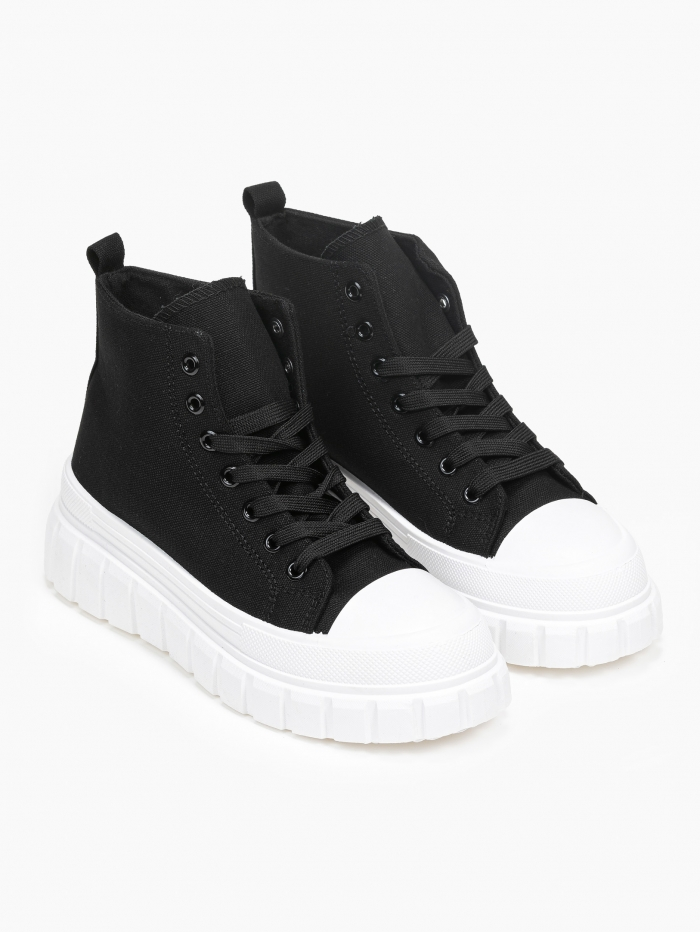 Sneakers μποτάκια με ιδιαίτερη σόλα