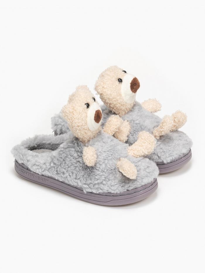 Παιδικές παντόφλες με αρκουδάκι