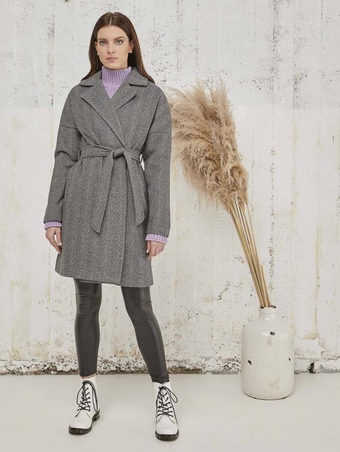 Παλτό Herringbone