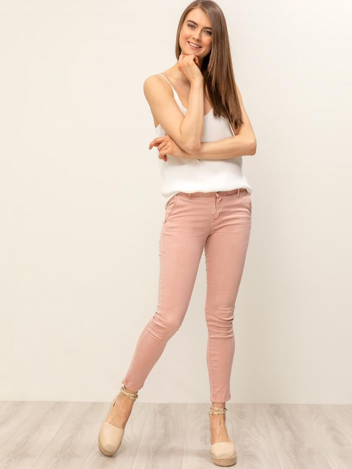 Παντελόνι ελαστικό με ζωνάκι