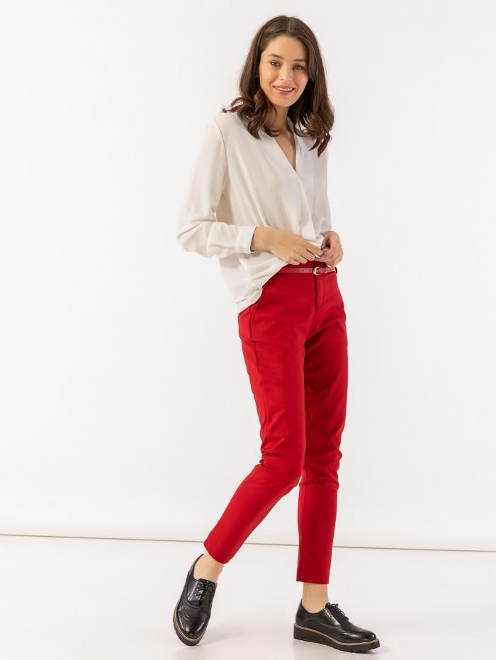 Παντελόνι με ζώνη στη μέση