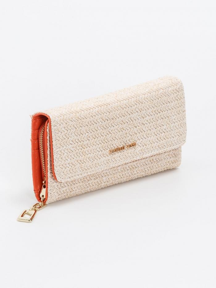 Ψάθινο πορτοφόλι