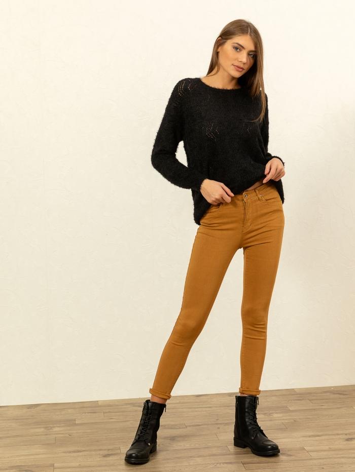Ψηλόμεσο skinny παντελόνι