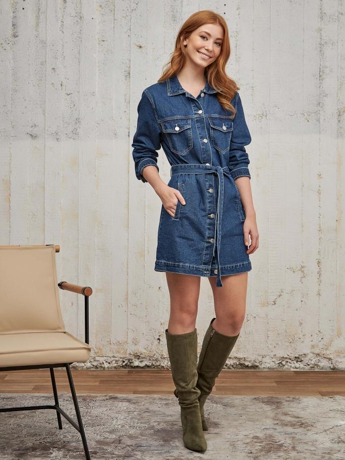 Shirtdress/ Jacket τζιν