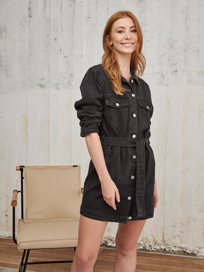 Shirtdress/ Jacket τζιν