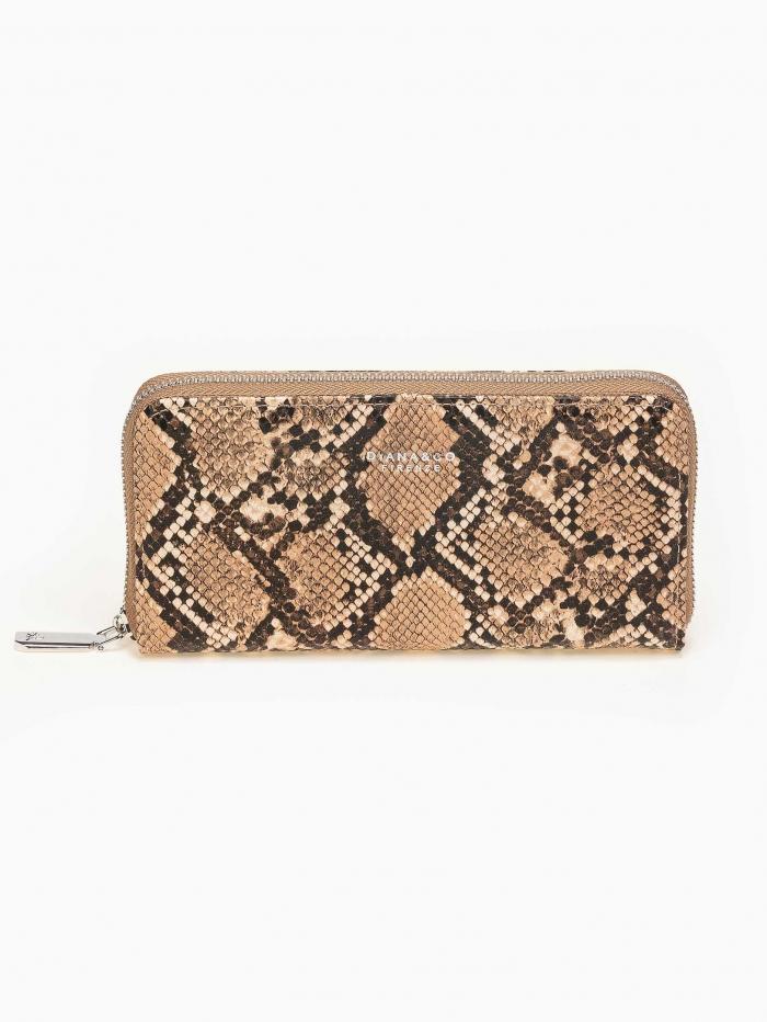 Snake skin πορτοφόλι