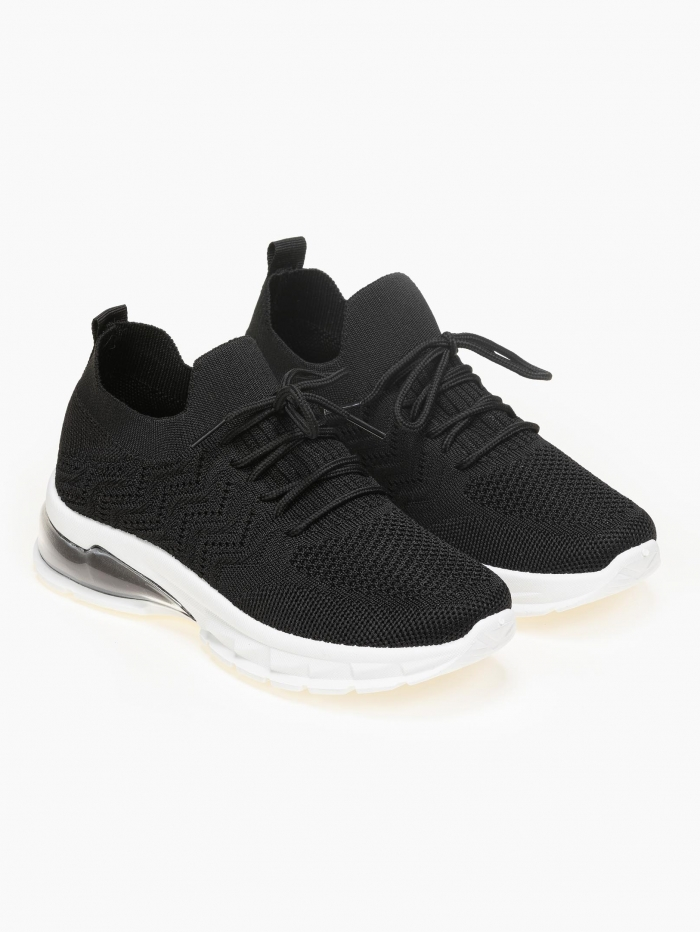 Sneakers κάλτσα με αερόσολα και ιδιαίτερη πλέξη