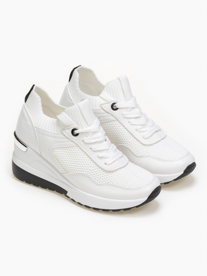 Sneakers με σφήνα
