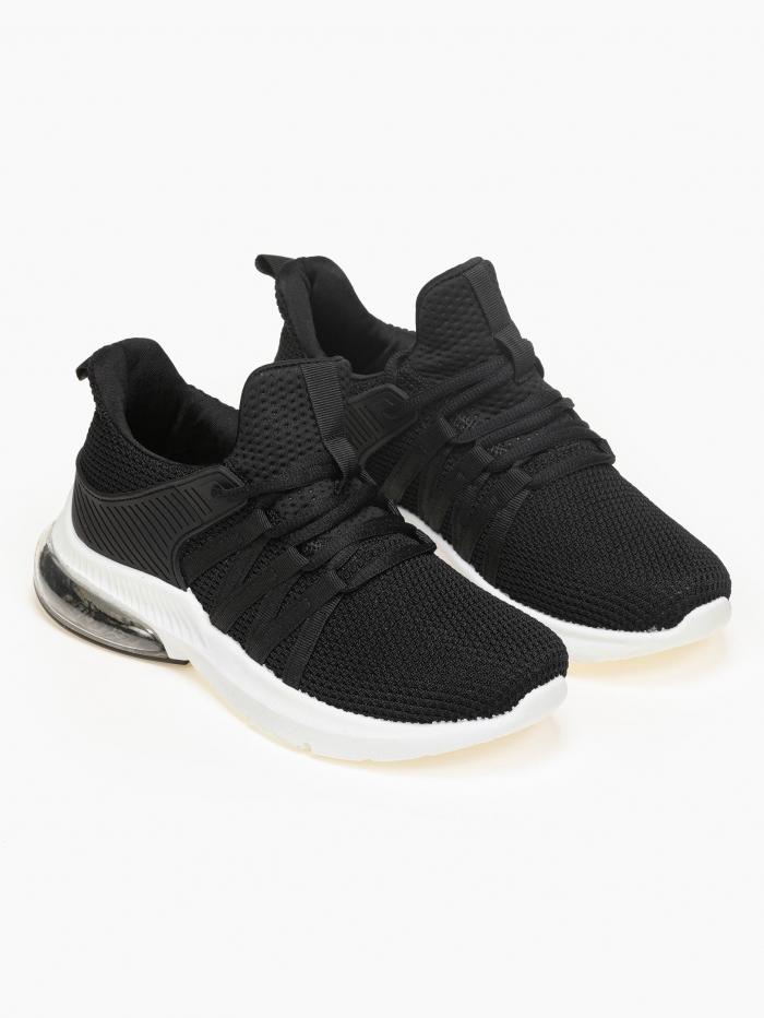 Sneakers με πλεκτό σχέδιο και αερόσολα