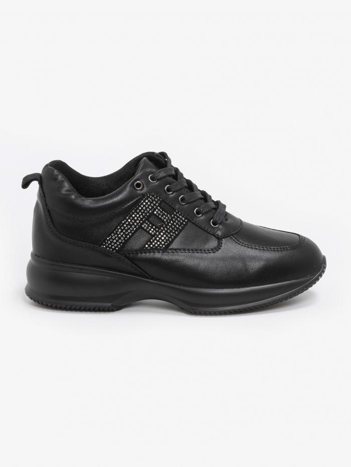 Sneakers με στρας details