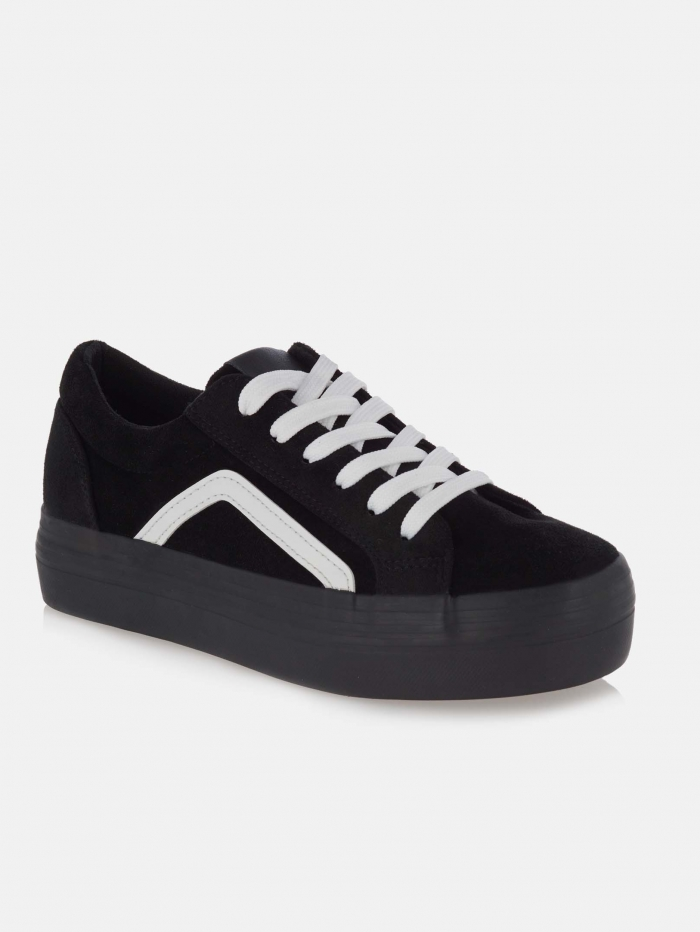Sneakers με suede υφή τύπου Vans