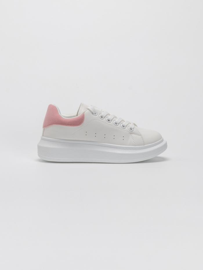 Sneakers με συνδυασμό χρώματος στο πίσω μέρος