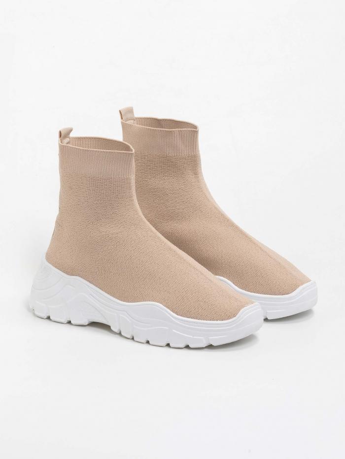 Sneakers τύπου κάλτσα