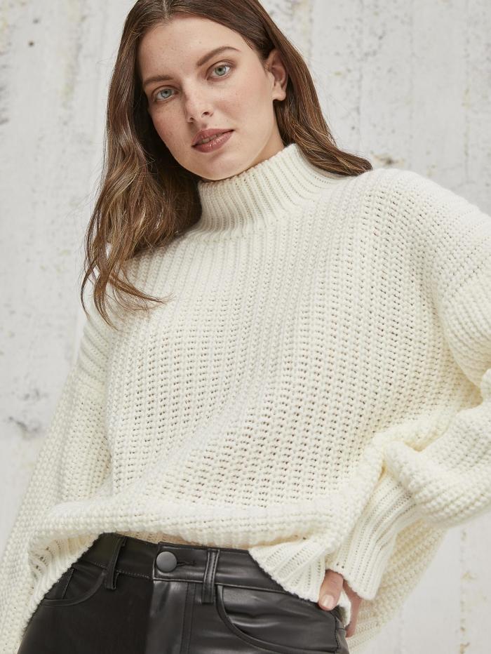 Soft πουλόβερ με μανσέτα
