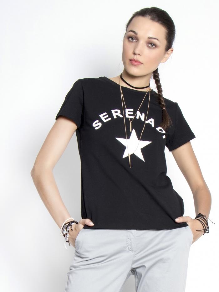 T-shirt με αστέρι