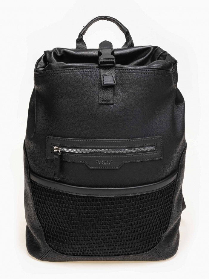 Travel backpack σε συνδυασμό υλικών