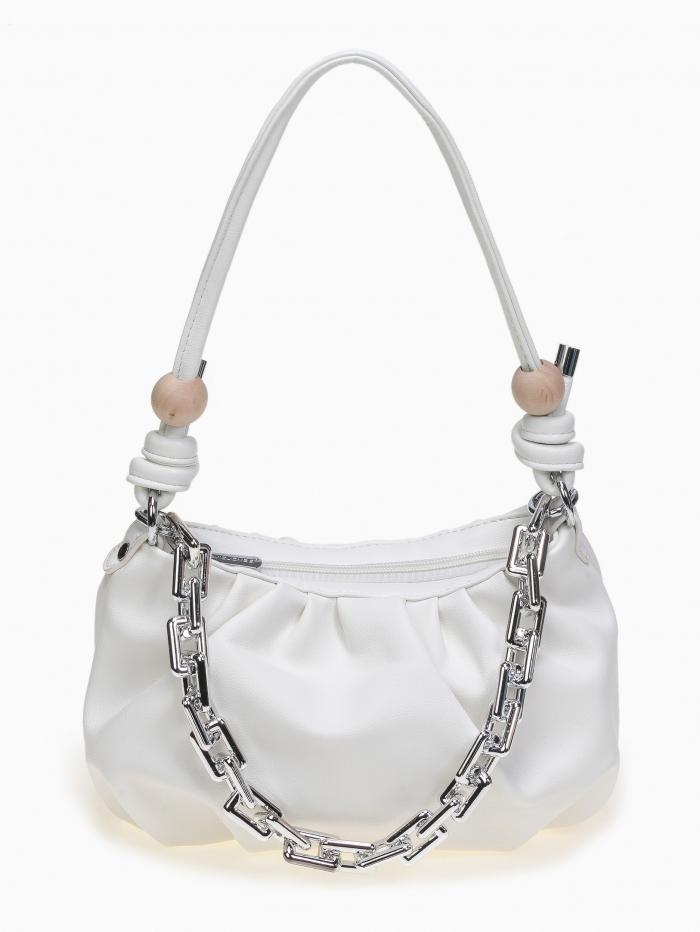 Τσάντα ώμου - χειρός με σούρες